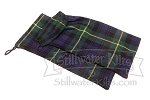 Small Tartan Drawstring Bag 2-PACK
