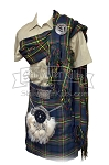 Fringed Men's Piper Plaid