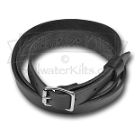Black Leather Sporran Strap