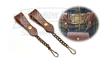 Stillwater Kilts Deluxe Sporran Hanger (Brown)