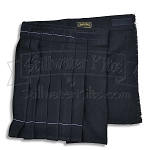 Youth Solid Black Thrifty Kilt
