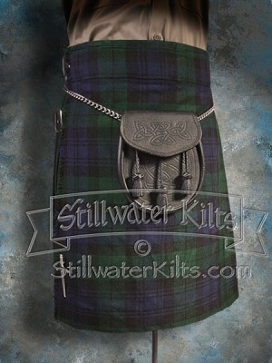 SWK Economy Kilt- Black Watch Tartan