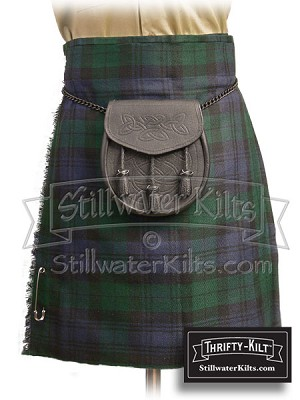 Youth Black Watch Tartan Thrifty Kilt