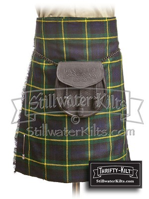 Youth Gordon Tartan Thrifty Kilt