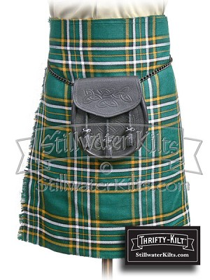 Irish National Tartan™ Thrifty Kilt