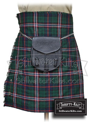 Youth Scottish National Tartan Thrifty Kilt